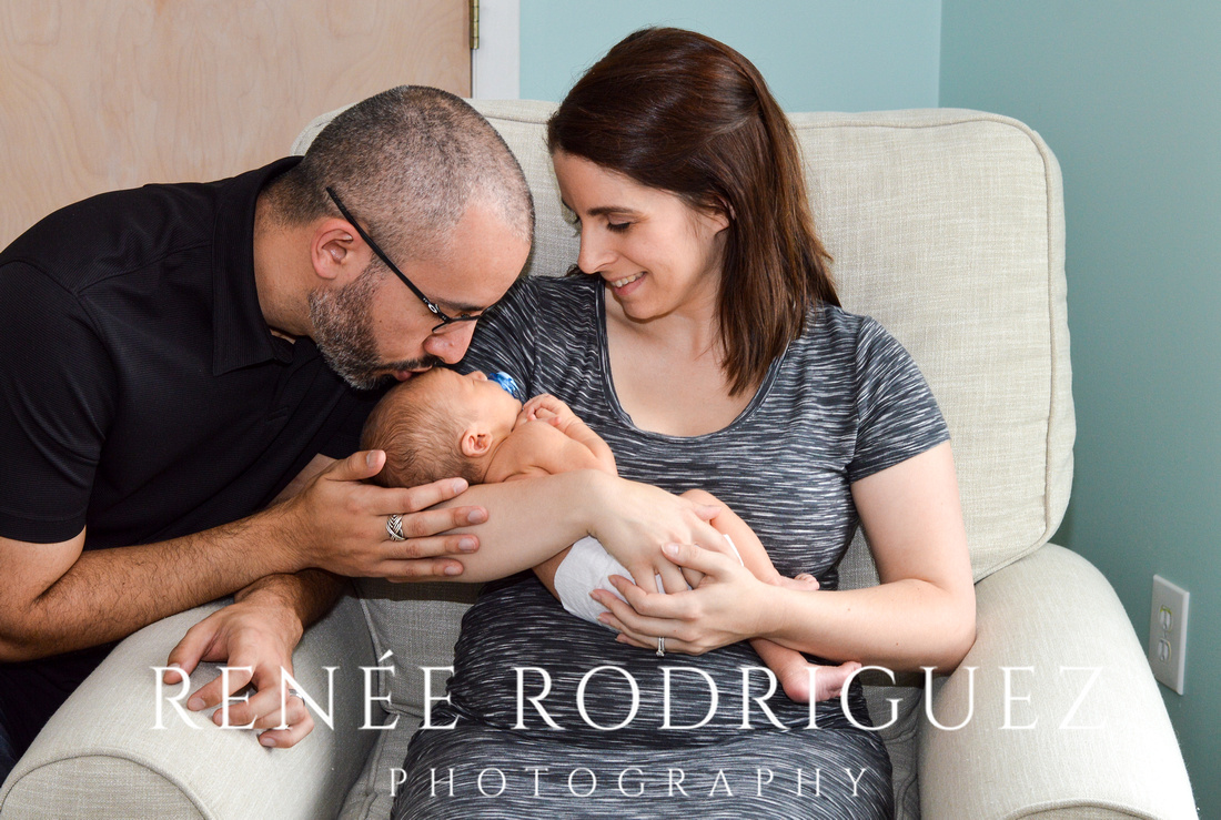 Baby Victor Newborn Photo Session
