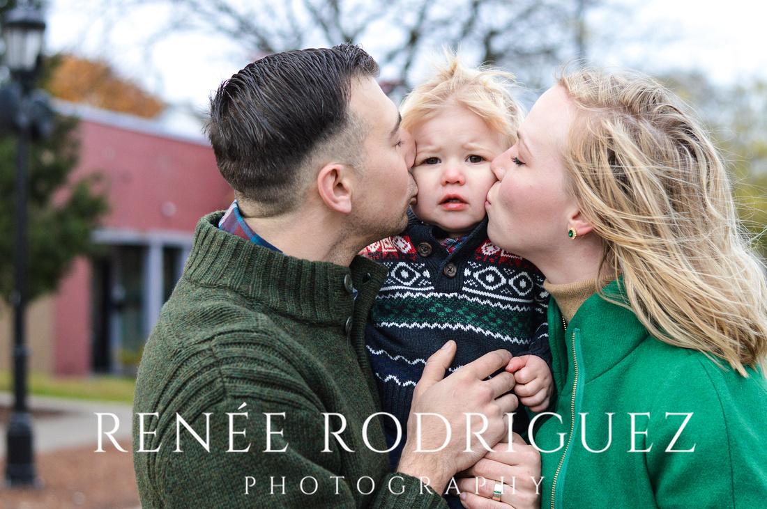 Christmas Photo Session - Grosse Pointe Park, MI