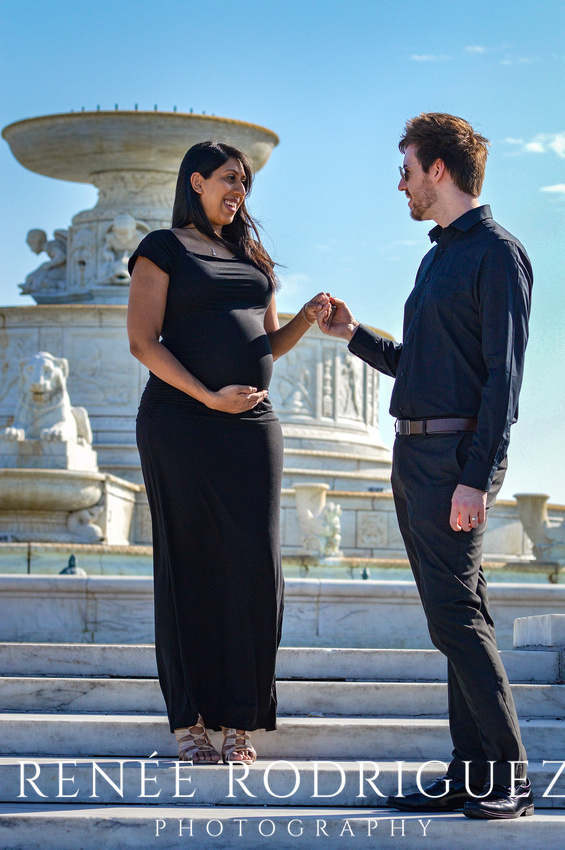 Fatima & Matthew | Belle Isle Maternity Session